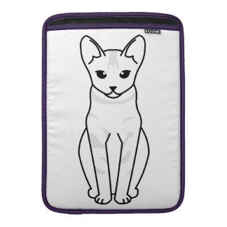 Serrade Petit Cat Cartoon MacBook Sleeves