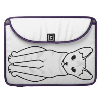 Serrade Petit Cat Cartoon Sleeves For MacBook Pro