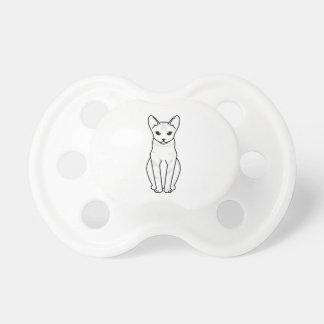 Serrade Petit Cat Cartoon BooginHead Pacifier