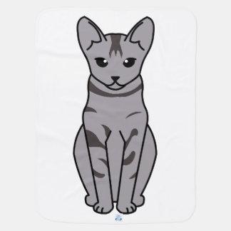 Serrade Petit Cat Cartoon Stroller Blanket