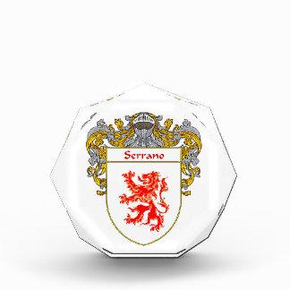 Serrano Coat of Arms Family Crest Awards
