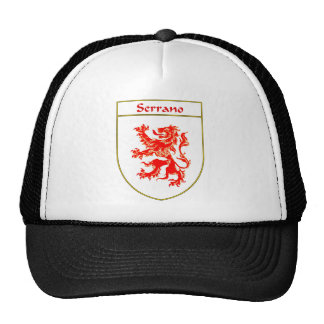 Serrano Coat of Arms/Family Crest Trucker Hat