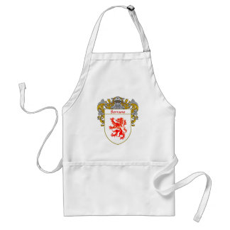 Serrano Coat of Arms (Mantled) Adult Apron