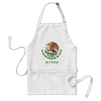 Serrano Mexican National Seal Adult Apron