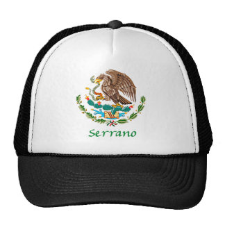 Serrano Mexican National Seal Trucker Hat