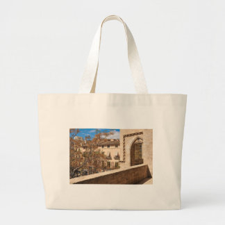 Serrano Torres in Valencia, Spain Large Tote Bag