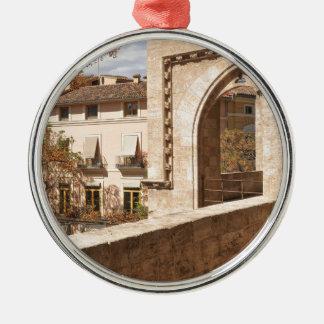 Serrano Torres in Valencia, Spain Metal Ornament