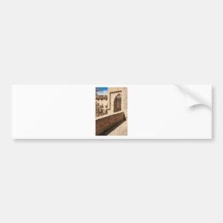 Serrano Tower Bumper Sticker