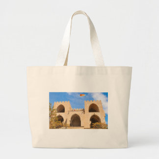 Serrano Towers in Valencia, Spain Large Tote Bag