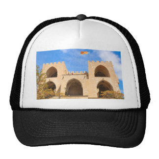Serrano Towers in Valencia, Spain Trucker Hat