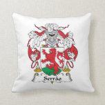 Serrao Family Crest Pillow