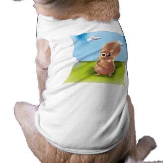 "Serrate Tanktop ""Squirrel "" Tee"