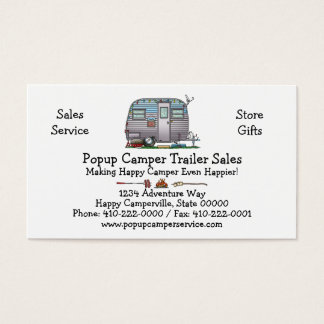 Serro Scotty Camper Business Card