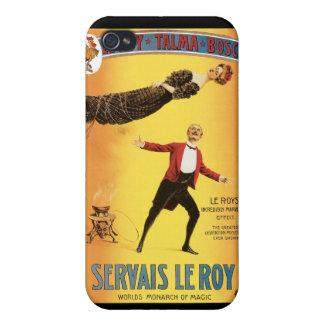 Servais Le Roy ~ Vintage Monarch of Magic Act iPhone 4 Case