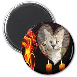 serval-00156 2 inch round magnet