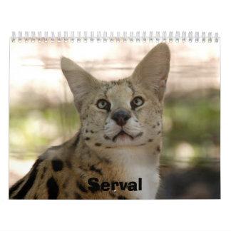 serval 017, Serval Calendar