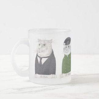 Servant Cat Men Frosted Mug
