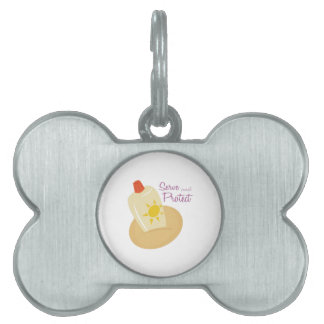 Serve and Protect Pet ID Tags
