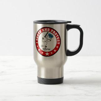 Serve and Protect Policeman Travel Mug
