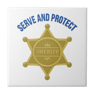 Serve And Protect Tile