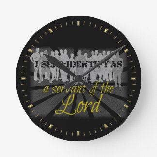 serve Christ Round Clock
