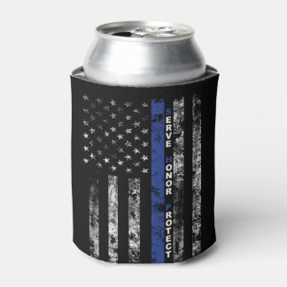 Serve Honor Protect Can Cooler