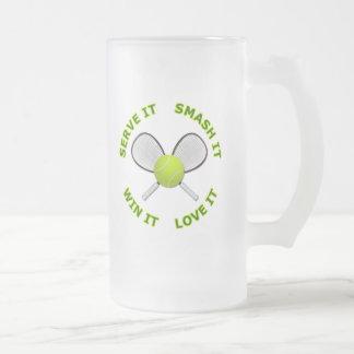 Serve It - Smash It - Win It - Love It Mugs