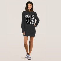 Serve Nothing_BLK WMS_HOODIE Dress