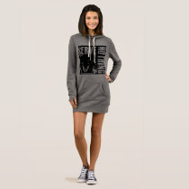 Serve Nothing_GREY WMS_HOODIE Dress