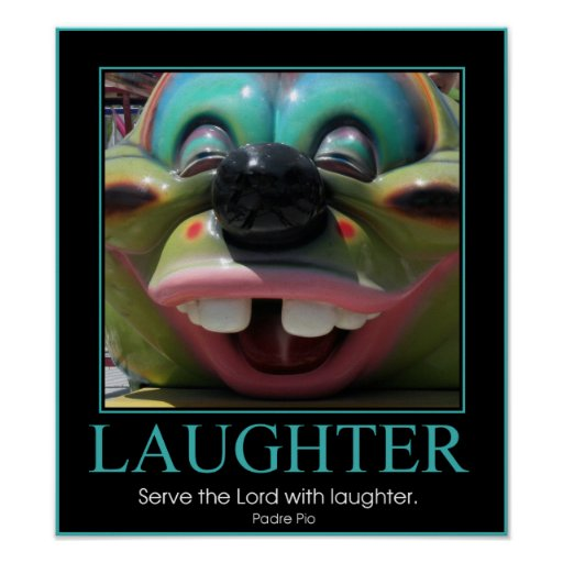 Serve the Lord with Laughter Print