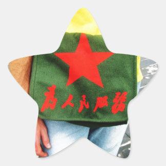 Serve The People Star Sticker