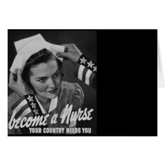 Serve Your Country Become a Nurse Card
