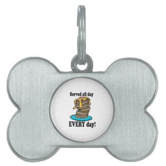 Served All Day Pet Tags