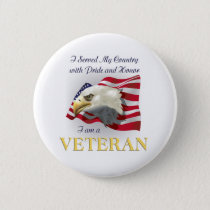 Served My Country Veterans Day Button
