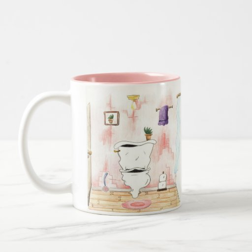SERVER-D6KI8EMG2858, the happy little toilet Mug