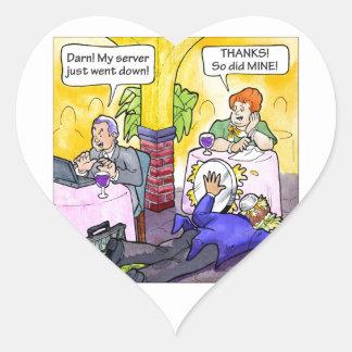 Server Down! Heart Sticker