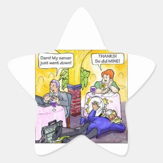 Server Down! Star Sticker
