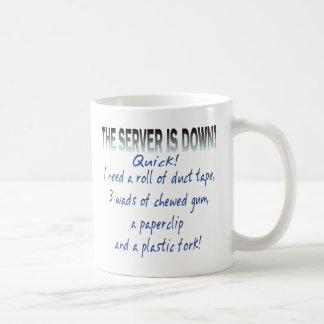Server is Down Coffee Mug