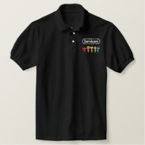 Servicare Embroidered Polo Shirt