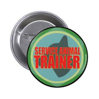 SERVICE ANIMAL DOG TRAINER BUTTON