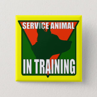 SERVICE ANIMAL TRAINING BUTTON