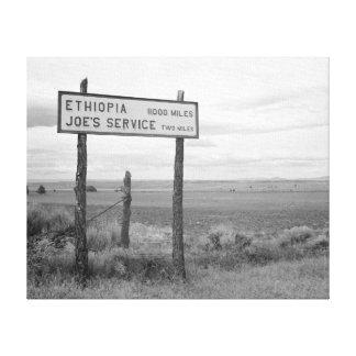 Service de Joe, 1936 Impresion De Lienzo