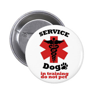 Service Dog Pin