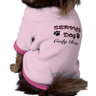 Service Dog Pet Tee