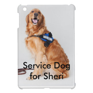 Service Dog for Sheri Phone Case with words iPad Mini Cases