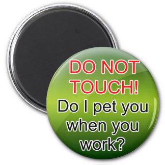 Service Dog Helpers Green Jelly Fridge Magnet