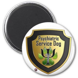 Service Dog Helpers Green Jelly Fridge Magnets