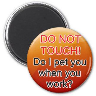 Service Dog Helpers Orange Jelly Refrigerator Magnet