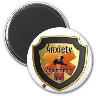 Service Dog Helpers Orange Jelly Magnets