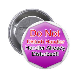 Service Dog Helpers Pink Jelly Button